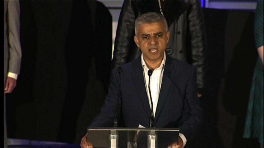 薩迪克汗成倫敦首位穆斯林市長