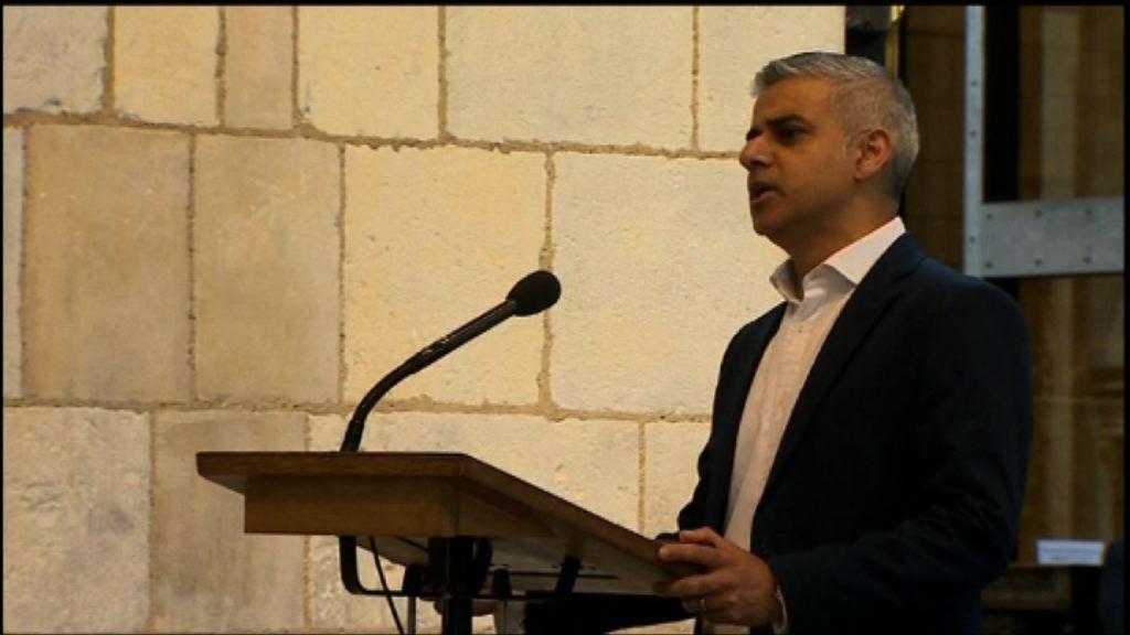 薩迪克汗宣誓就任倫敦市長