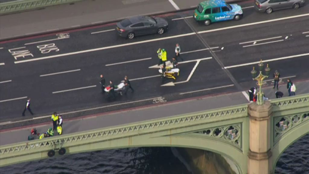 英國國會大樓外恐襲4死29人傷