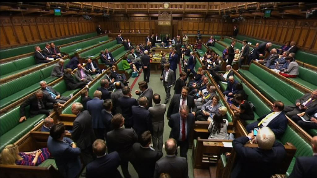 英國下議院通過女王演說