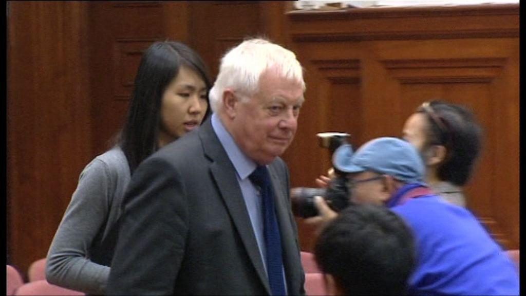 彭定康憂英國為貿易背棄香港出賣尊嚴