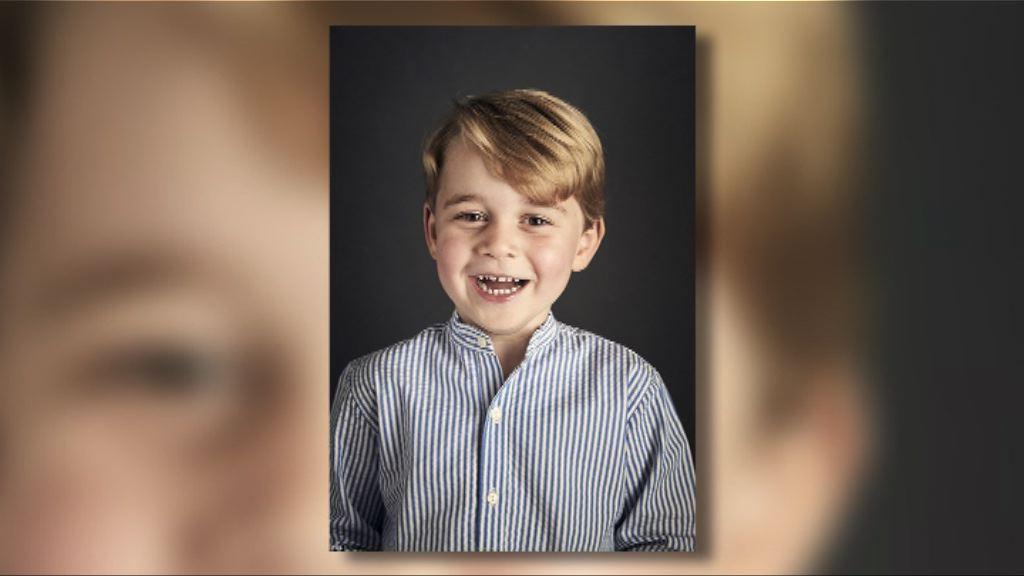 喬治王子四歲生日 王室發放新相