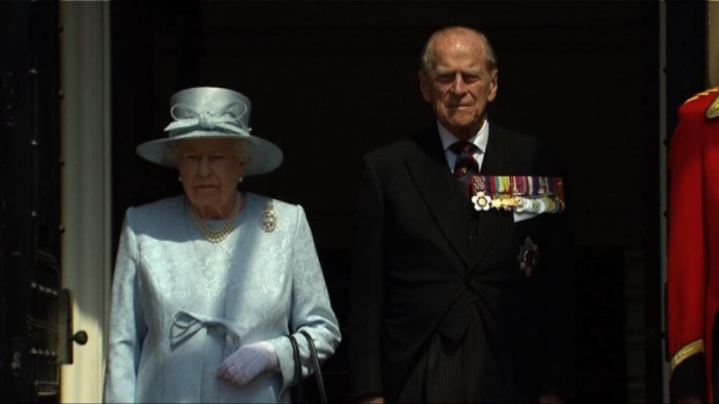 英女王壽辰閱兵儀式為大火死難者默哀