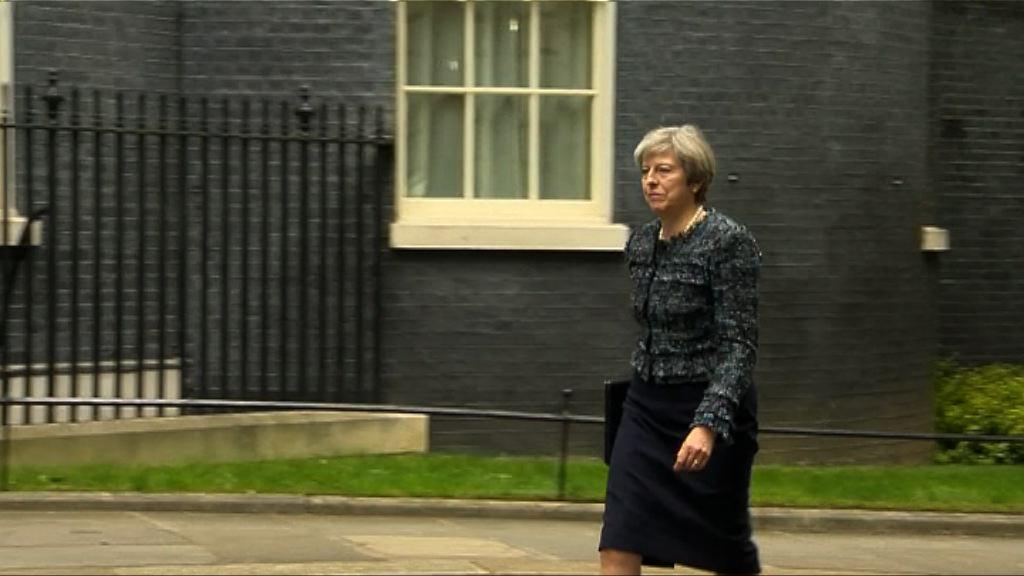 文翠珊見英女王 通知解散下議院