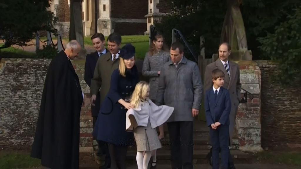 英女王缺席傳統聖誕日崇拜