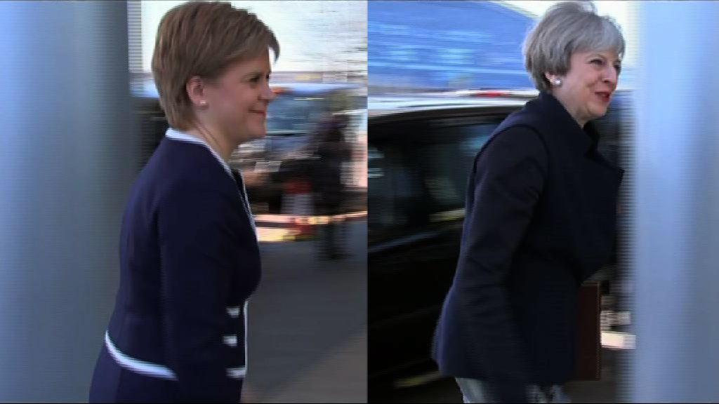 文翠珊施雅晴在蘇格蘭獨立公投上各不相讓
