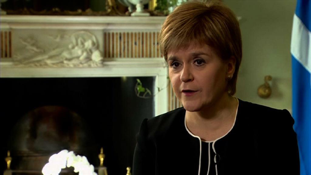 蘇格蘭促英國批准再舉行獨立公投