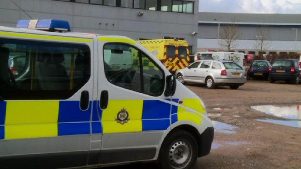 英警員曾接觸有毒物質 情況嚴重