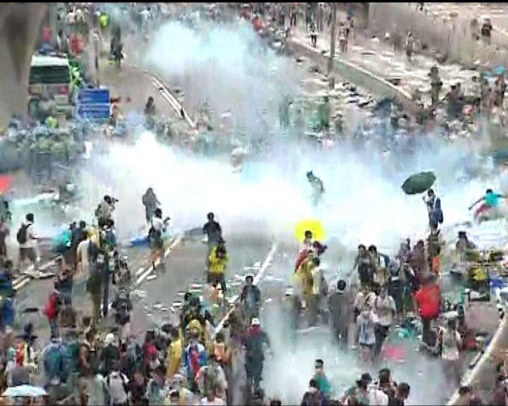 英政府稱不禁止催淚彈出口香港