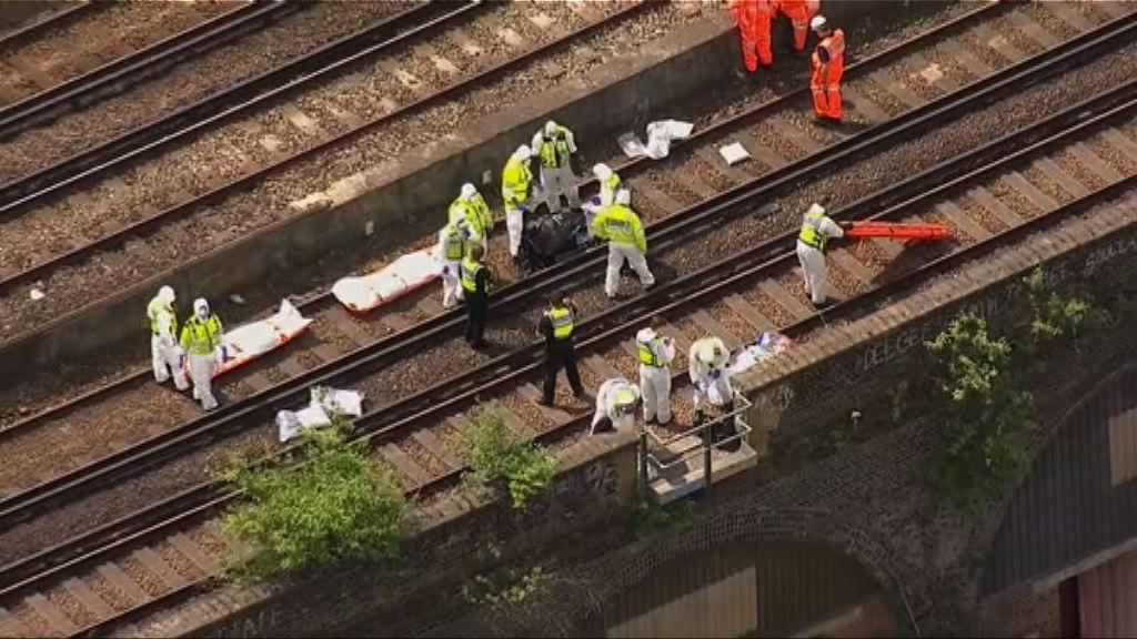 英國倫敦三人被火車撞死