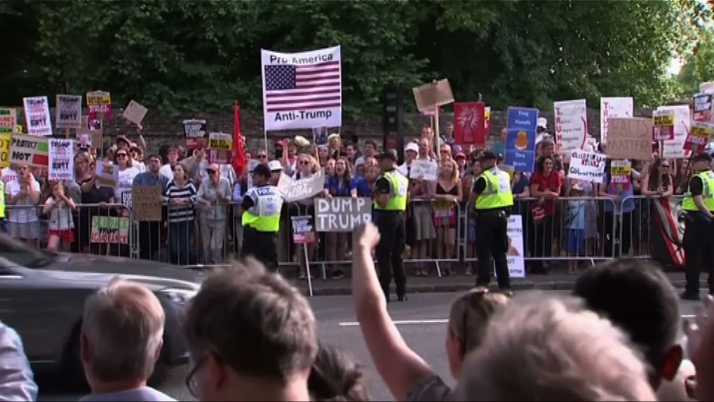 特朗普稱盼約翰遜重返英政府被指違反外交禮節