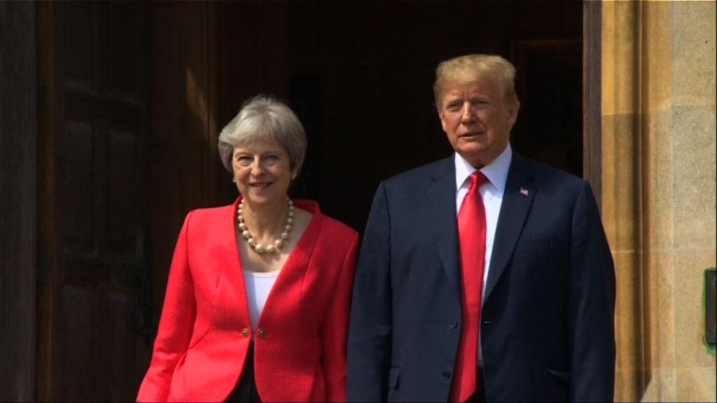 特朗普與文翠珊會晤談貿易議題