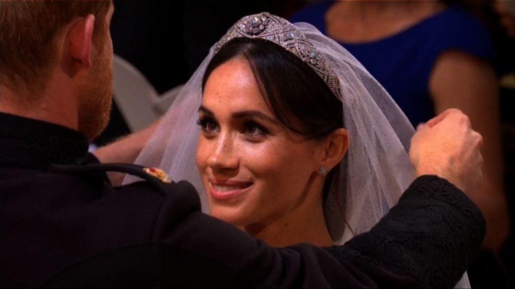 哈里與梅根於溫莎堡舉行婚禮