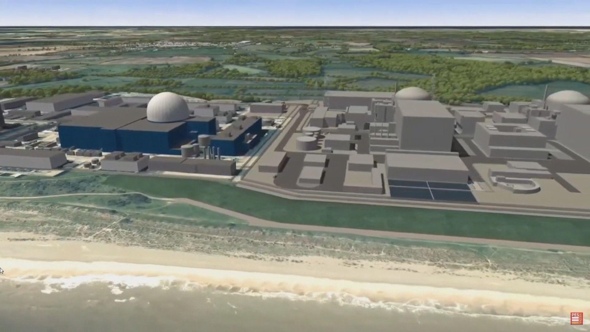 英國據報擬將中廣核剔出東部興建核電站項目
