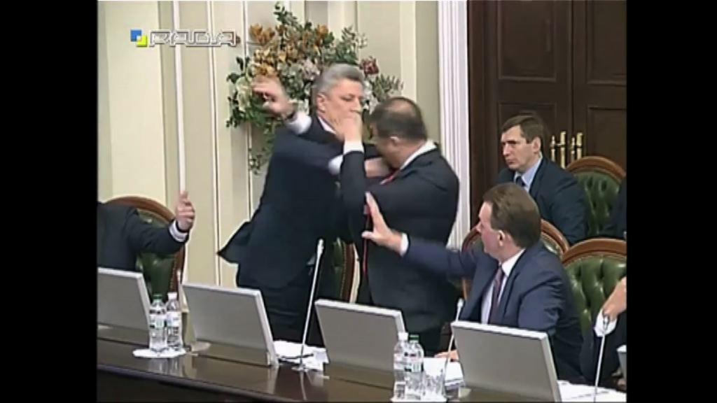 烏克蘭議會拳鬥反對派領袖被逐