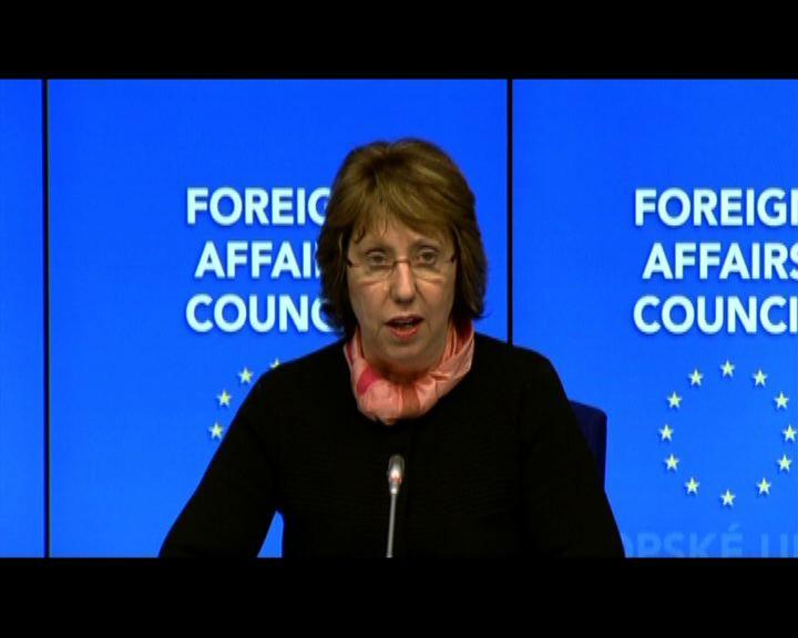 歐盟促俄撤軍否則展開制裁