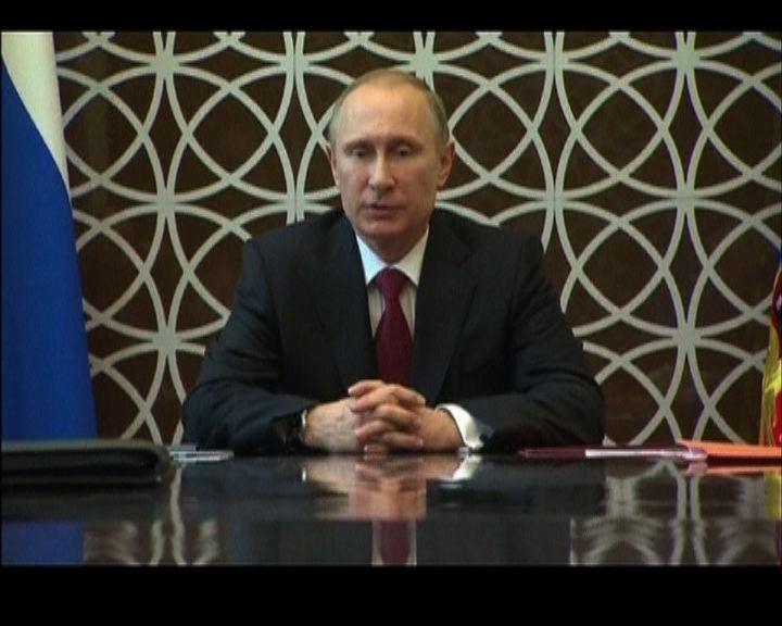普京稱克里米亞危機錯不在俄方