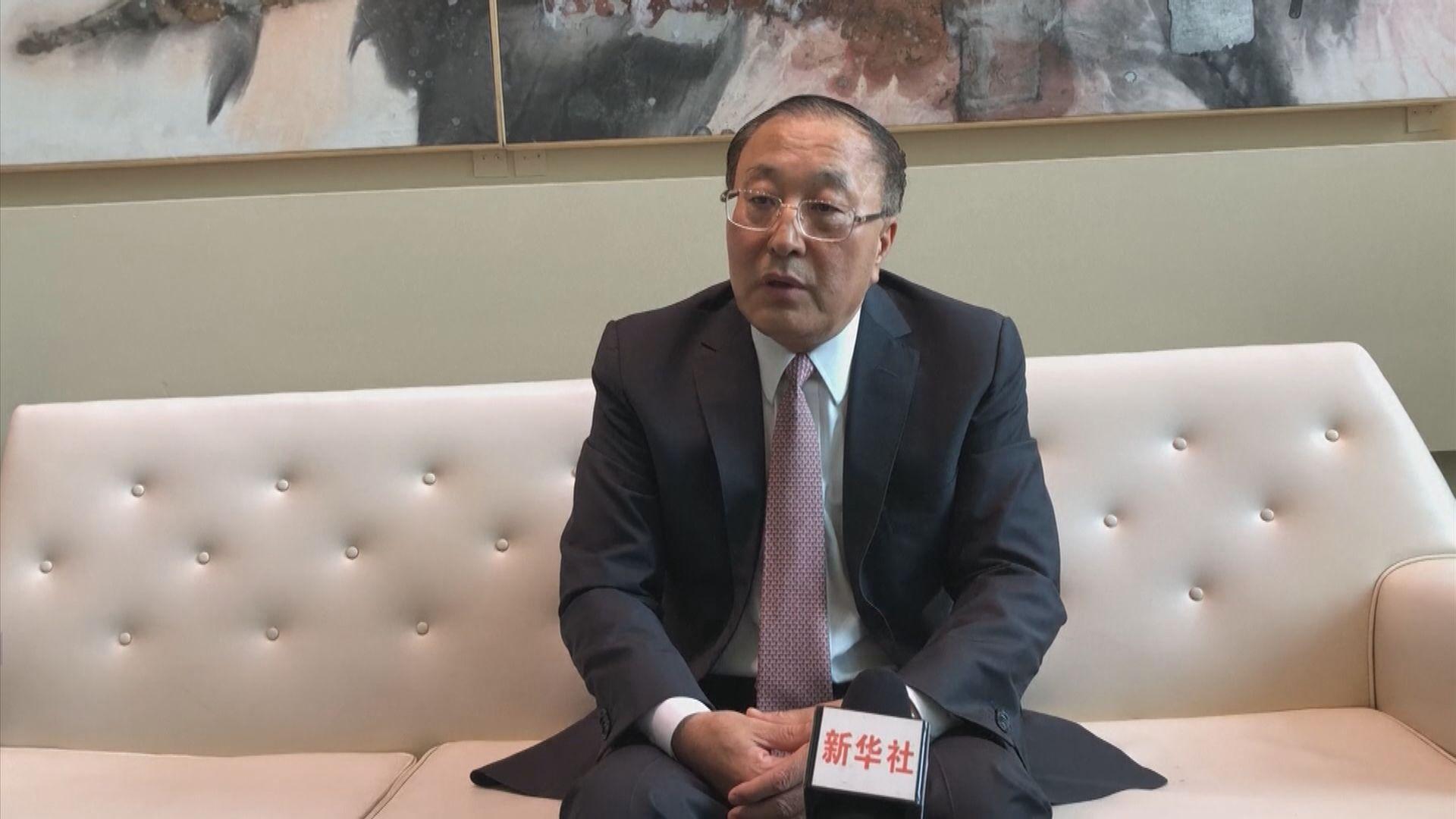 張軍:支持香港特區政府採取行動恢復社會秩