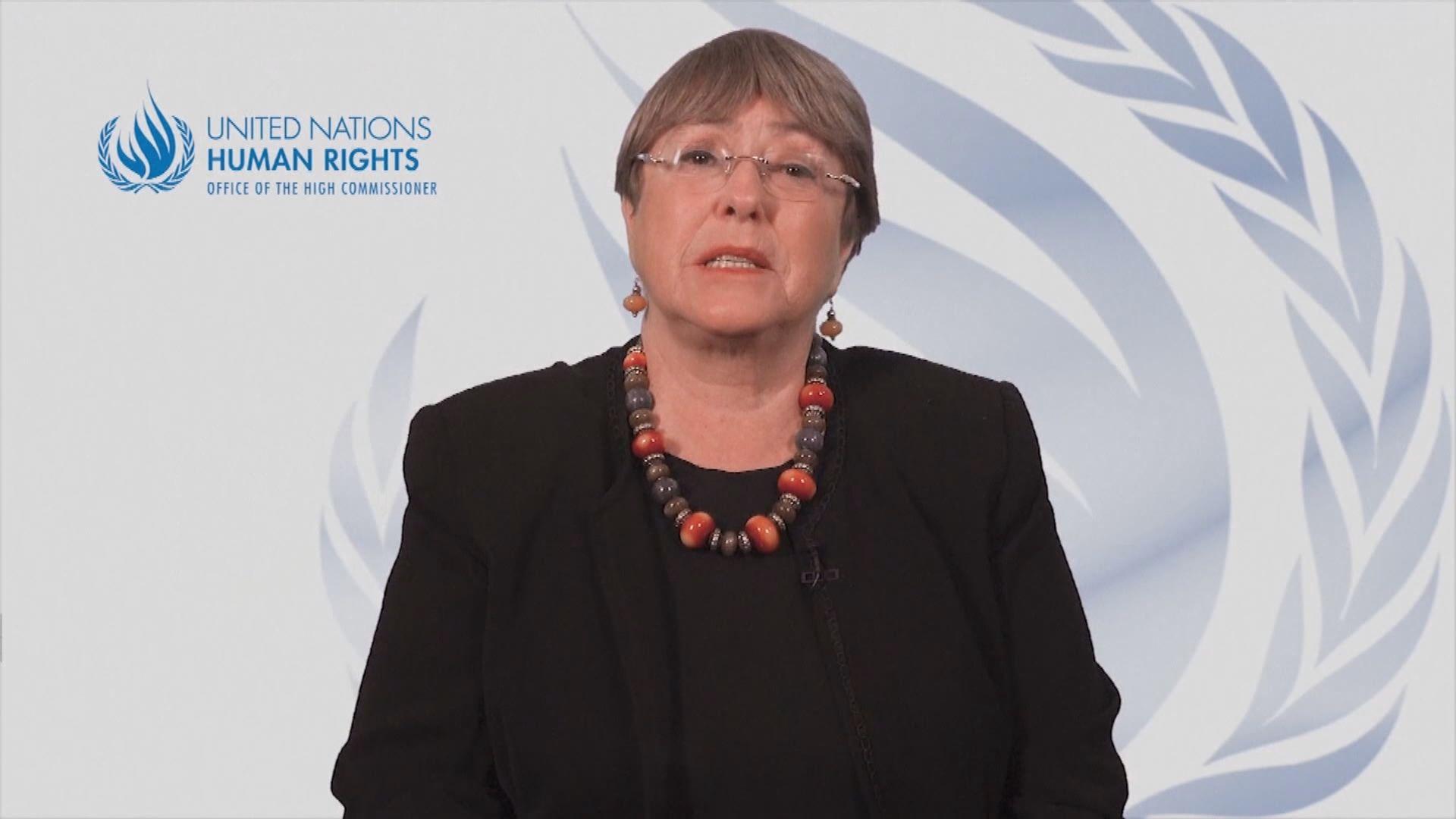 聯合國人權事務高級專員關注香港情況