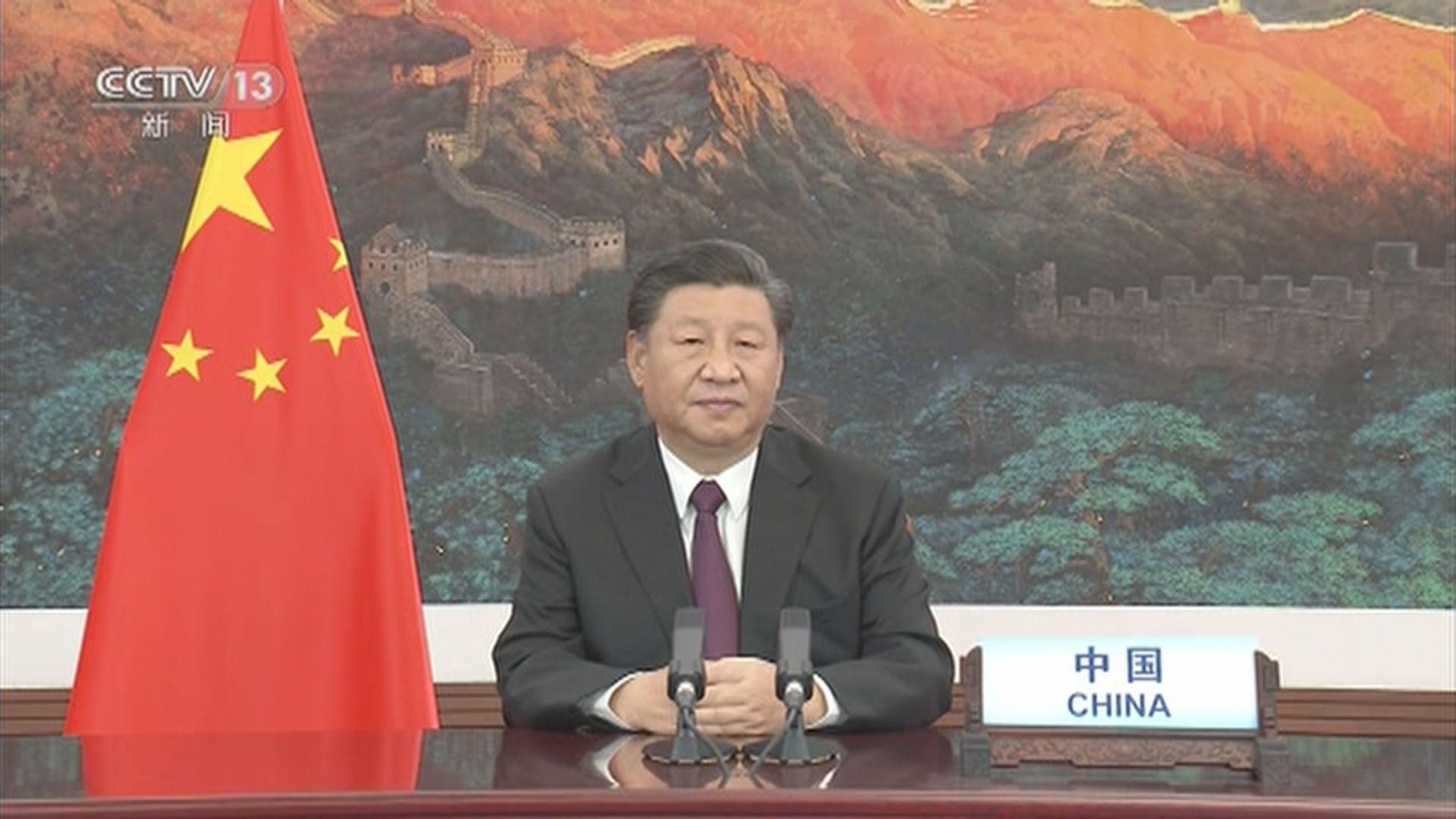 習近平:中國切實履行氣候變化等條約義務