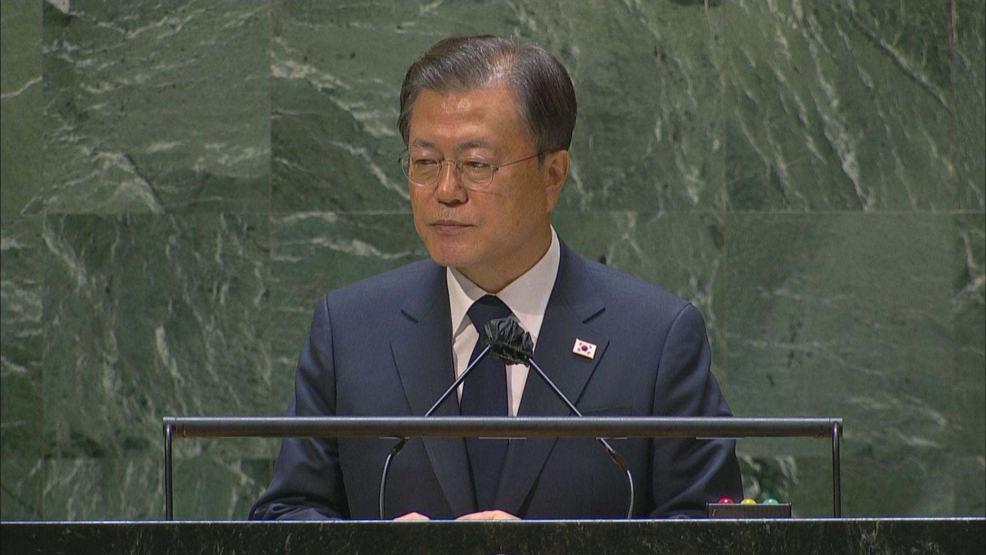 文在寅倡正式宣布韓戰結束 推動半島無核化