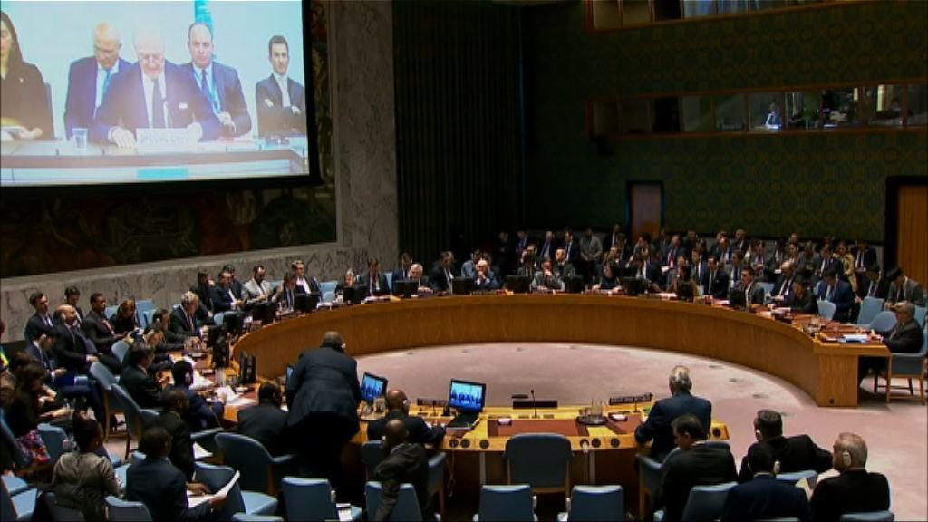 聯合國安理會開會商敘利亞化武襲擊