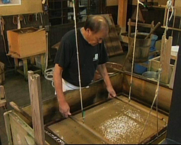 日本和紙核准為非物質文化遺產