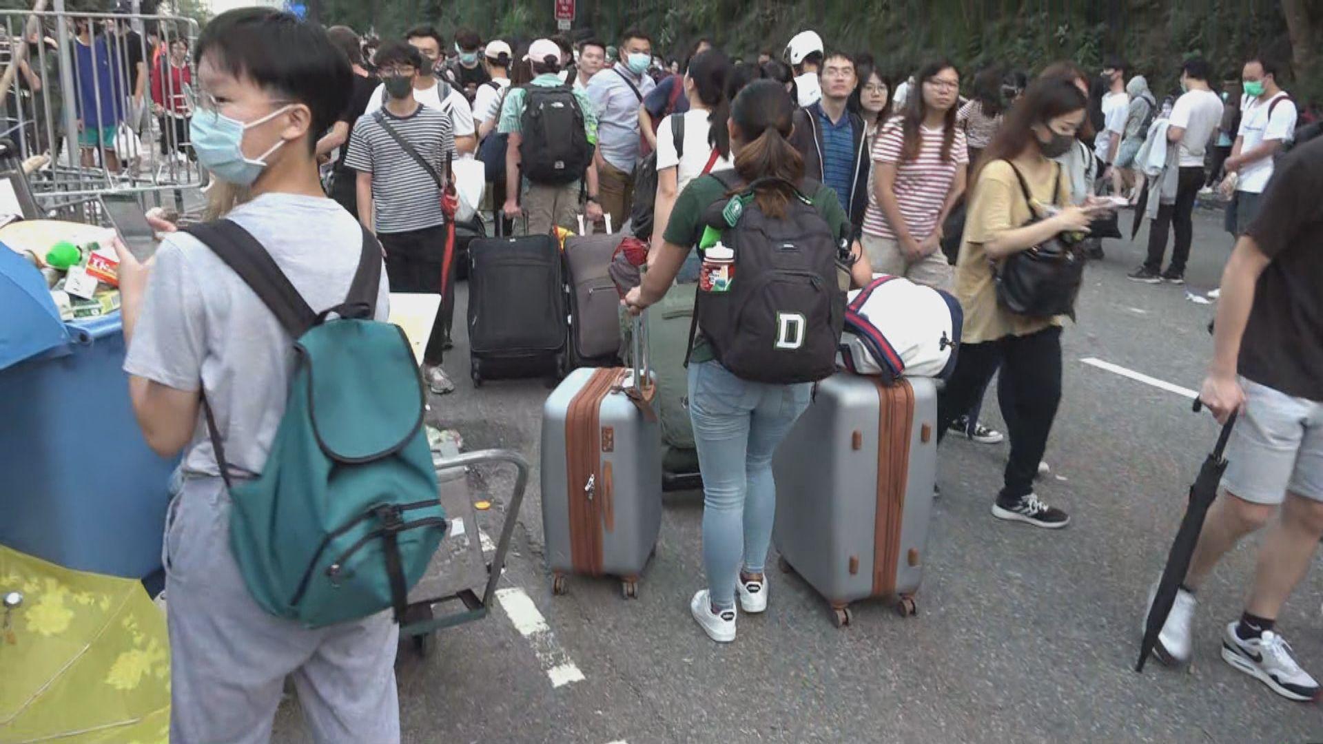 中文大學宣布今本學期即時結束