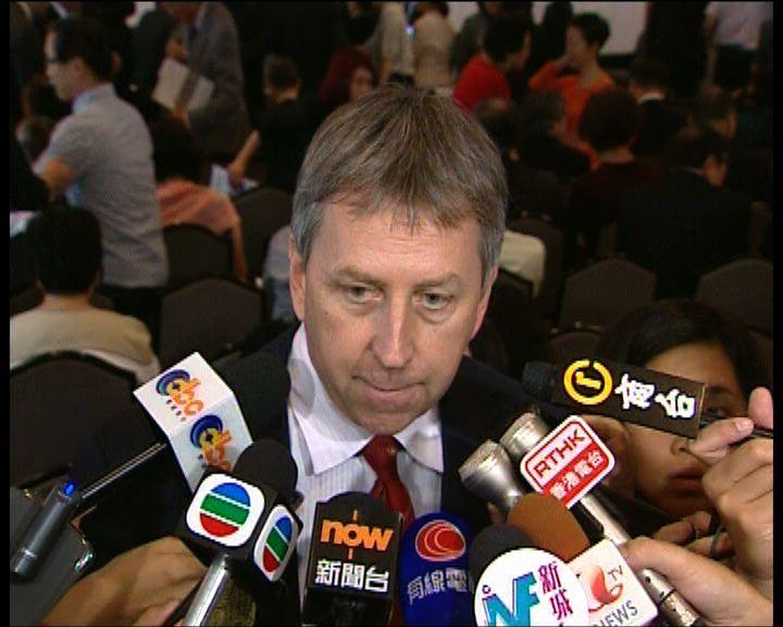 馬斐森對政改對話未能解決事件感失望