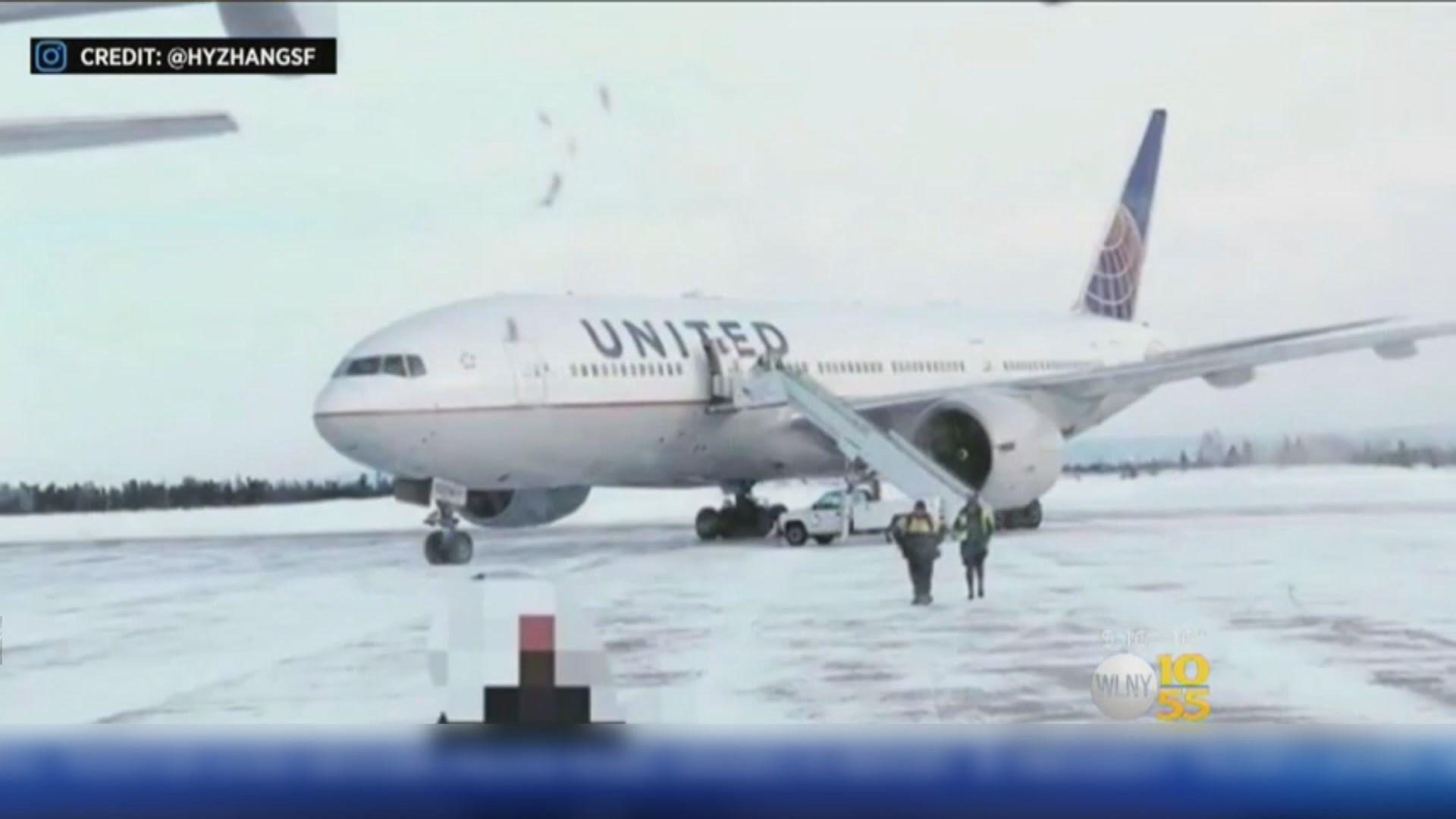 聯合航空乘客嚴寒下滯留機艙逾十多小時