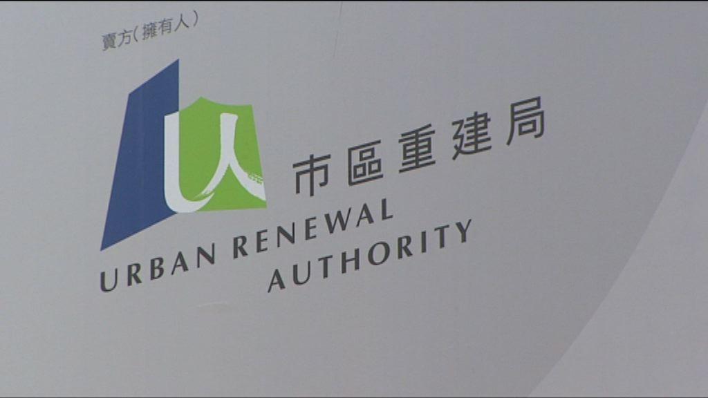 韋志成:市建局提收購價處被動