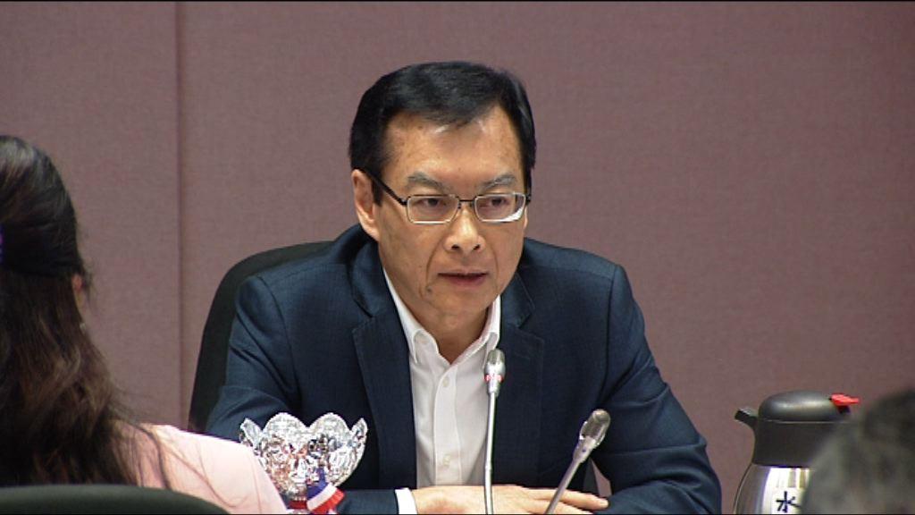 韋志成:不能用一貫政策處理觀塘逆權侵佔