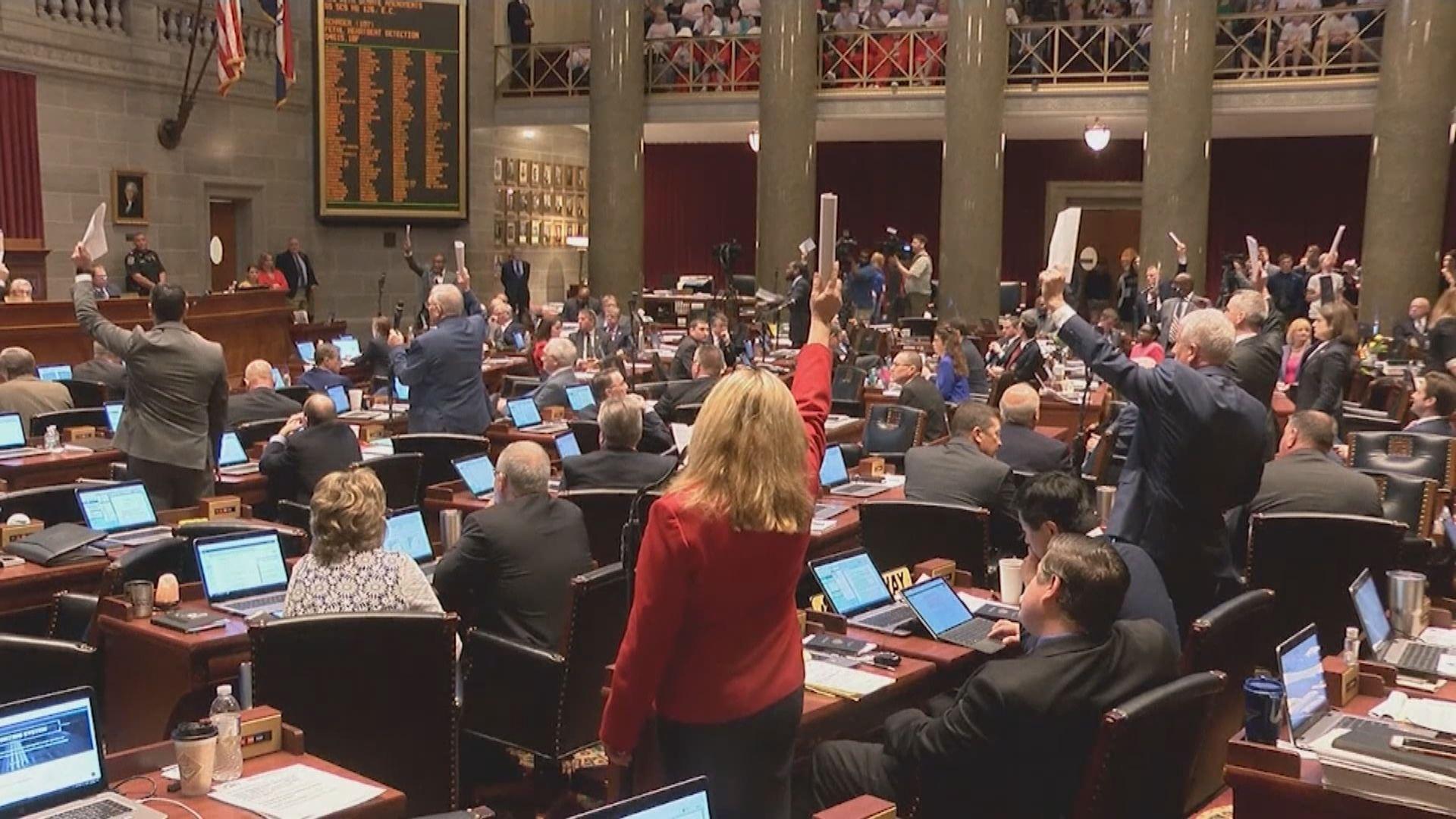 美國密蘇里州眾議院通過嚴格的墮胎法案