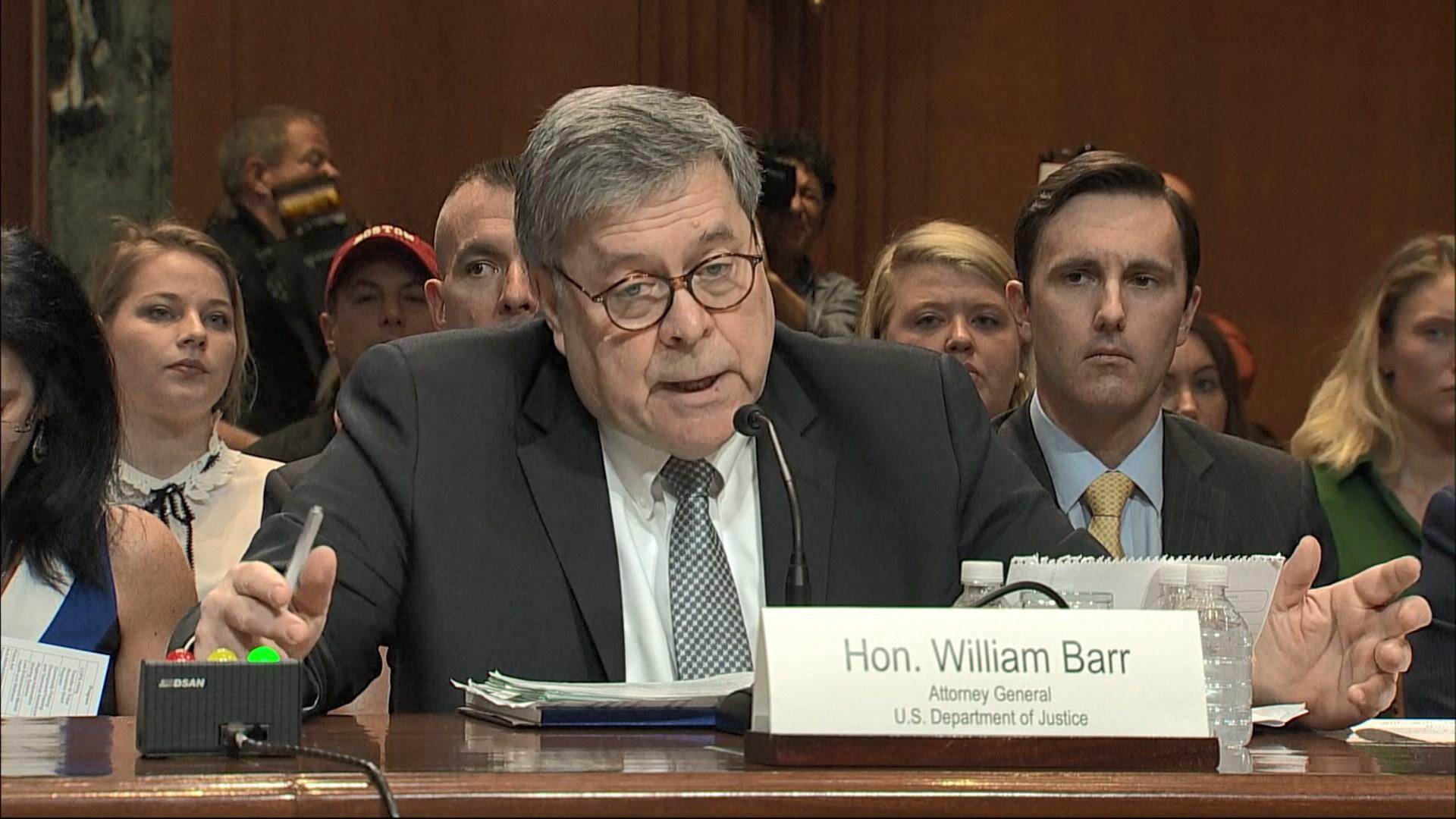 司法部長稱情報機關對特朗普團隊作間諜活動
