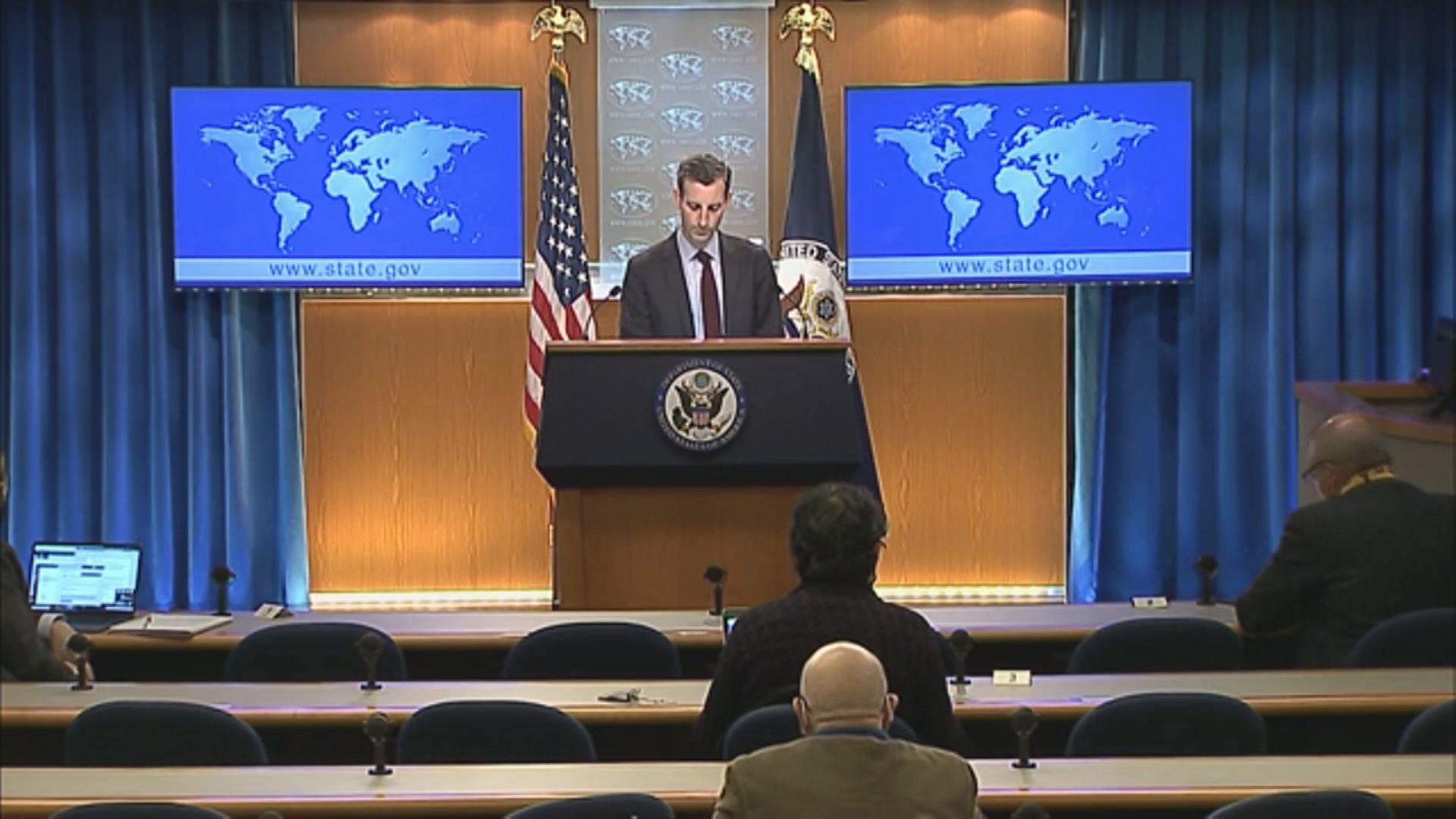 美國國務院發言人譴責中方禁播BBC世界新聞台