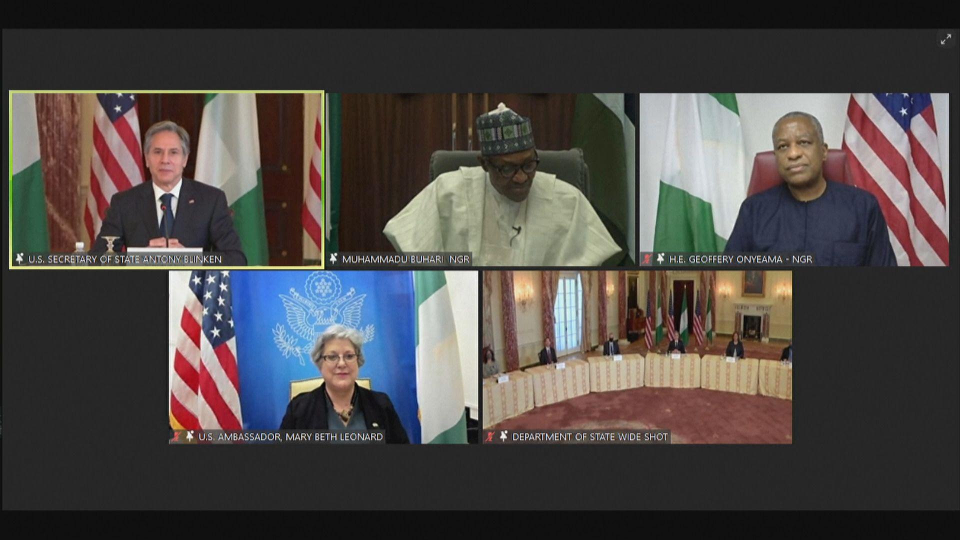美國國務卿布林肯提醒非洲警惕中國崛起