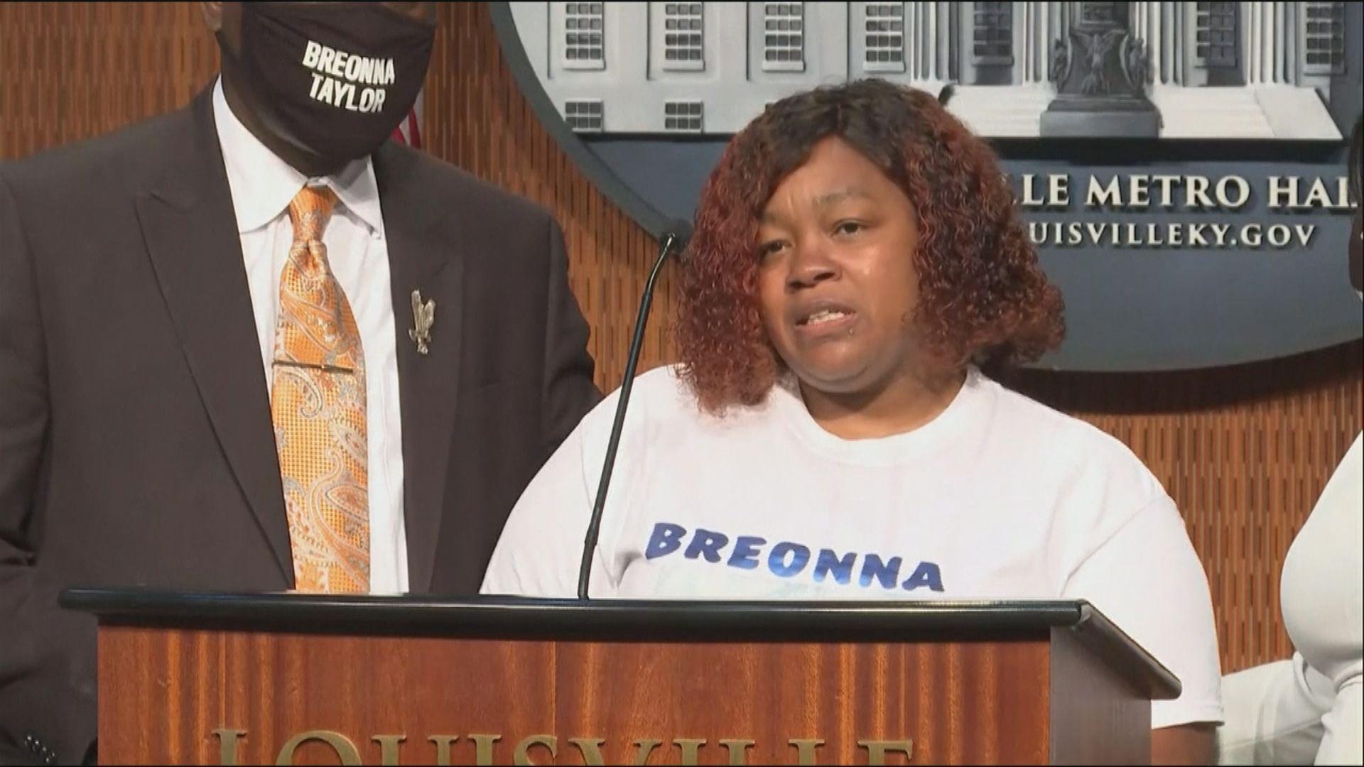 美國黑人女子遭警入屋槍殺 家屬獲巨額賠償