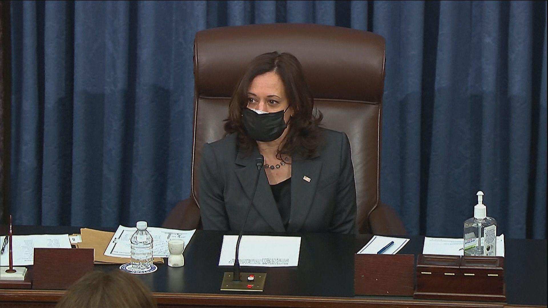 賀錦麗投下關鍵一票通過預算案