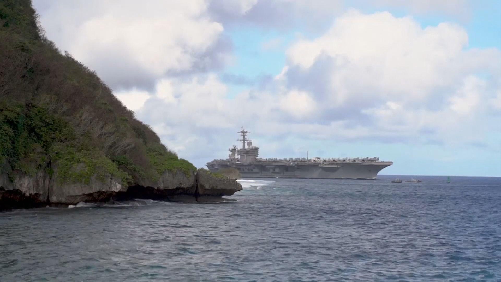 美軍航母羅斯福號爆疫情 艦長被解職