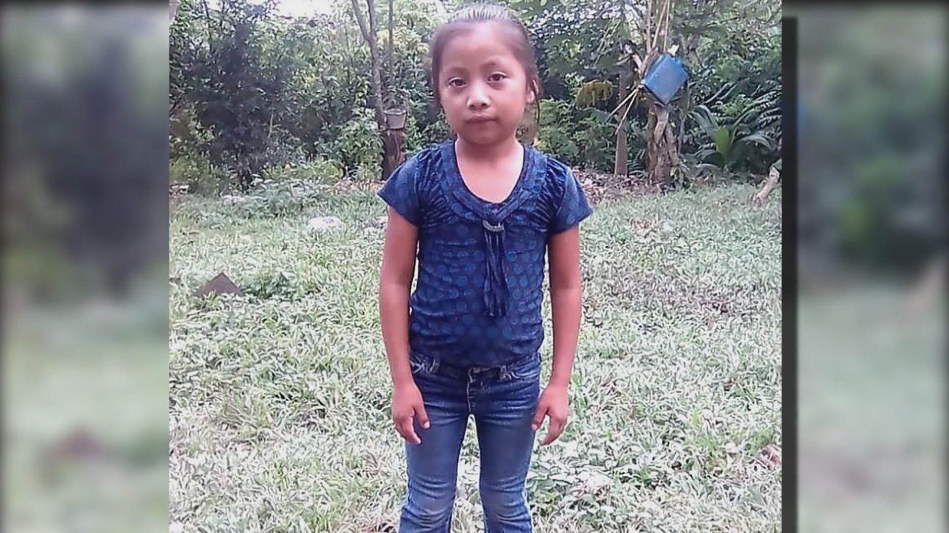 美國再有非法入境兒童扣留期間死亡