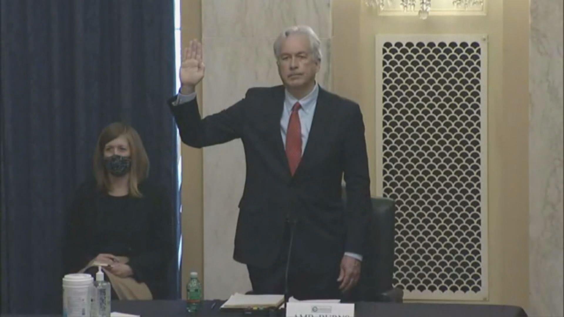 美國參議院情報委員會通過伯恩斯出任中情局局長提名