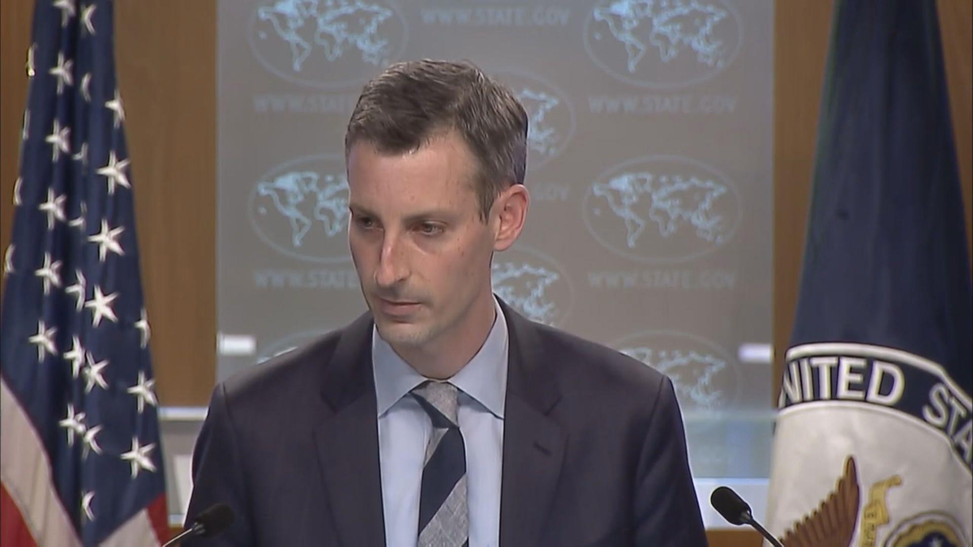 美國務院稱拜登政府仍支持一個中國政策