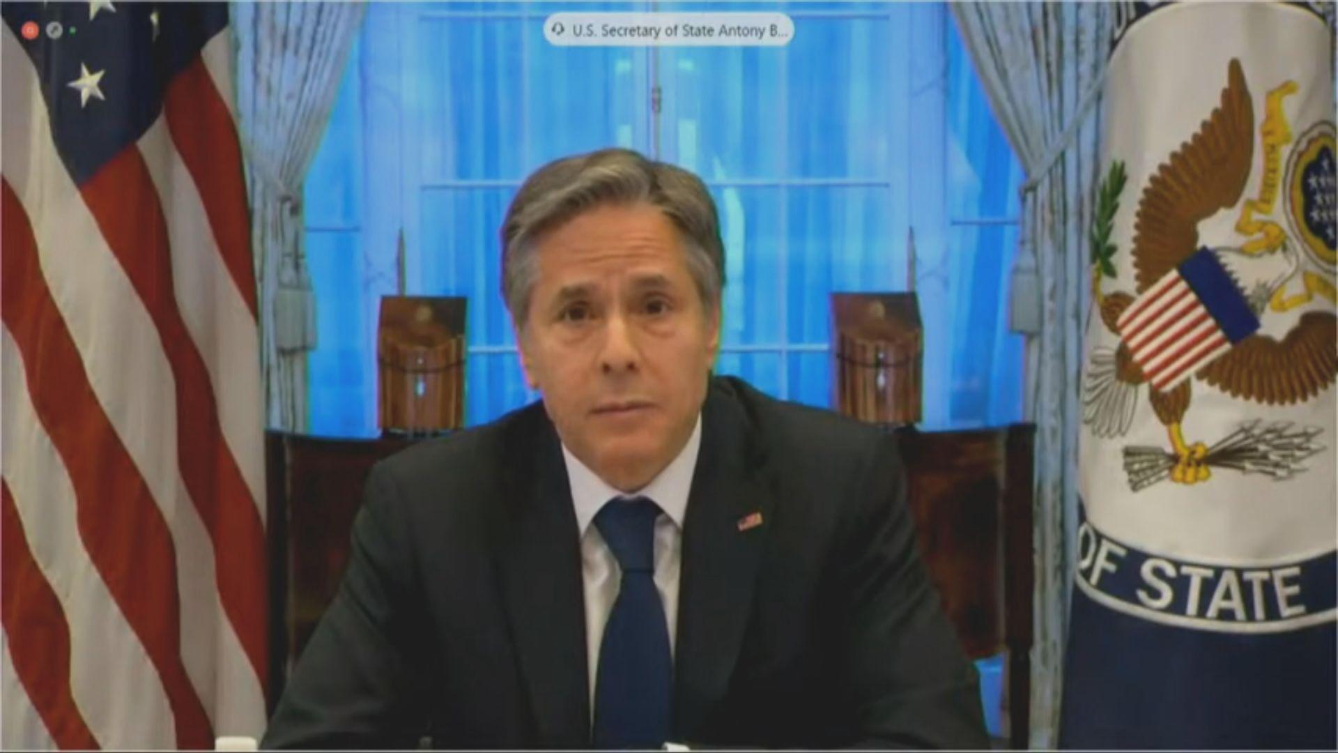 中國駐美使館:美國應停止與台灣一切形式官方往來