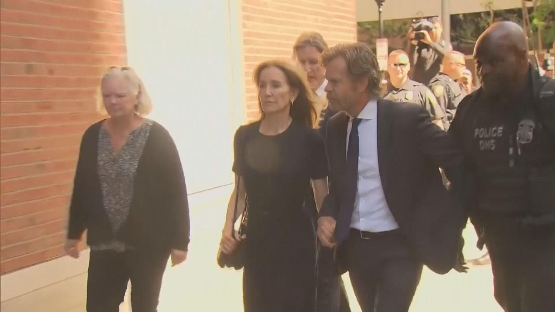 美國大學招生賄賂案 影星菲利絲蒂夏夫曼被判囚14天
