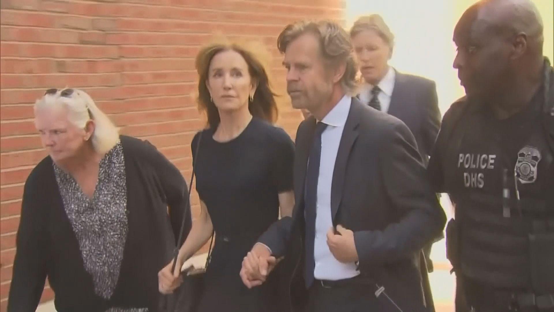 大學招生賄賂案 菲利絲蒂夏夫曼為首位被判刑家長