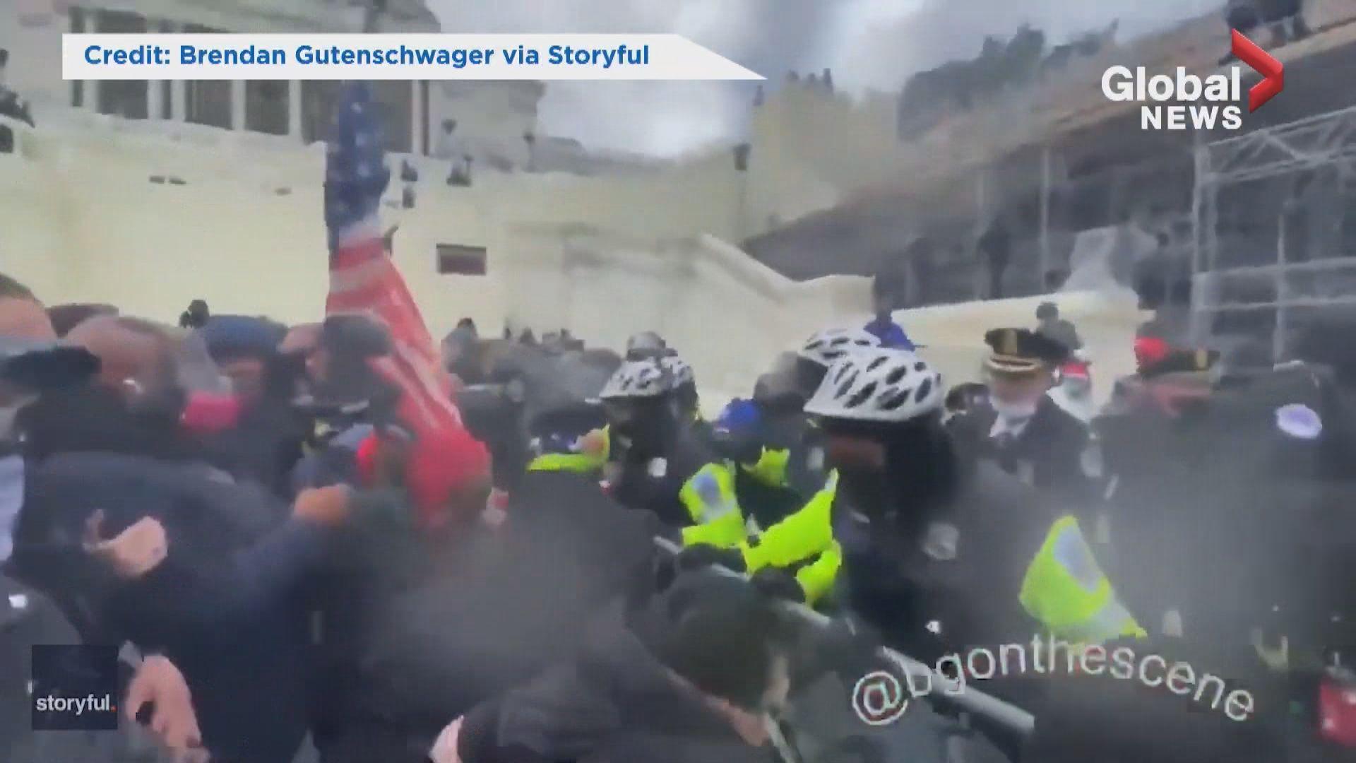 特朗普支持者集會演變衝突 華盛頓特區宵禁