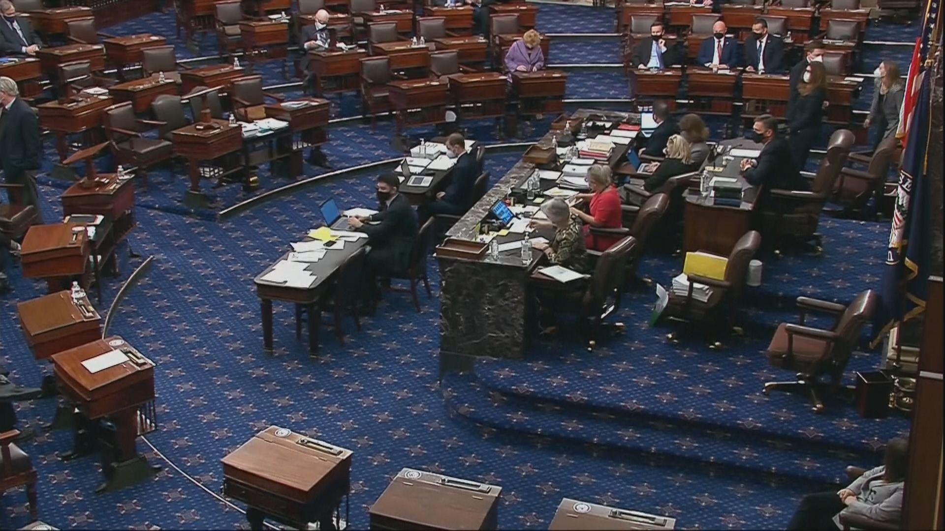 美國參議院通宵表決紓困方案修正案