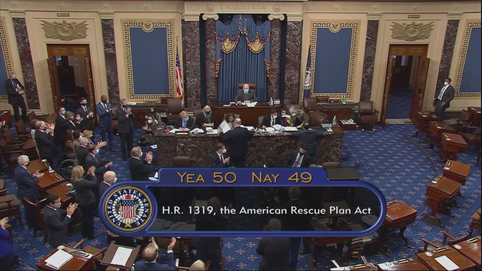 美眾議院將重新審議疫情紓困方案 料本周內表決通過