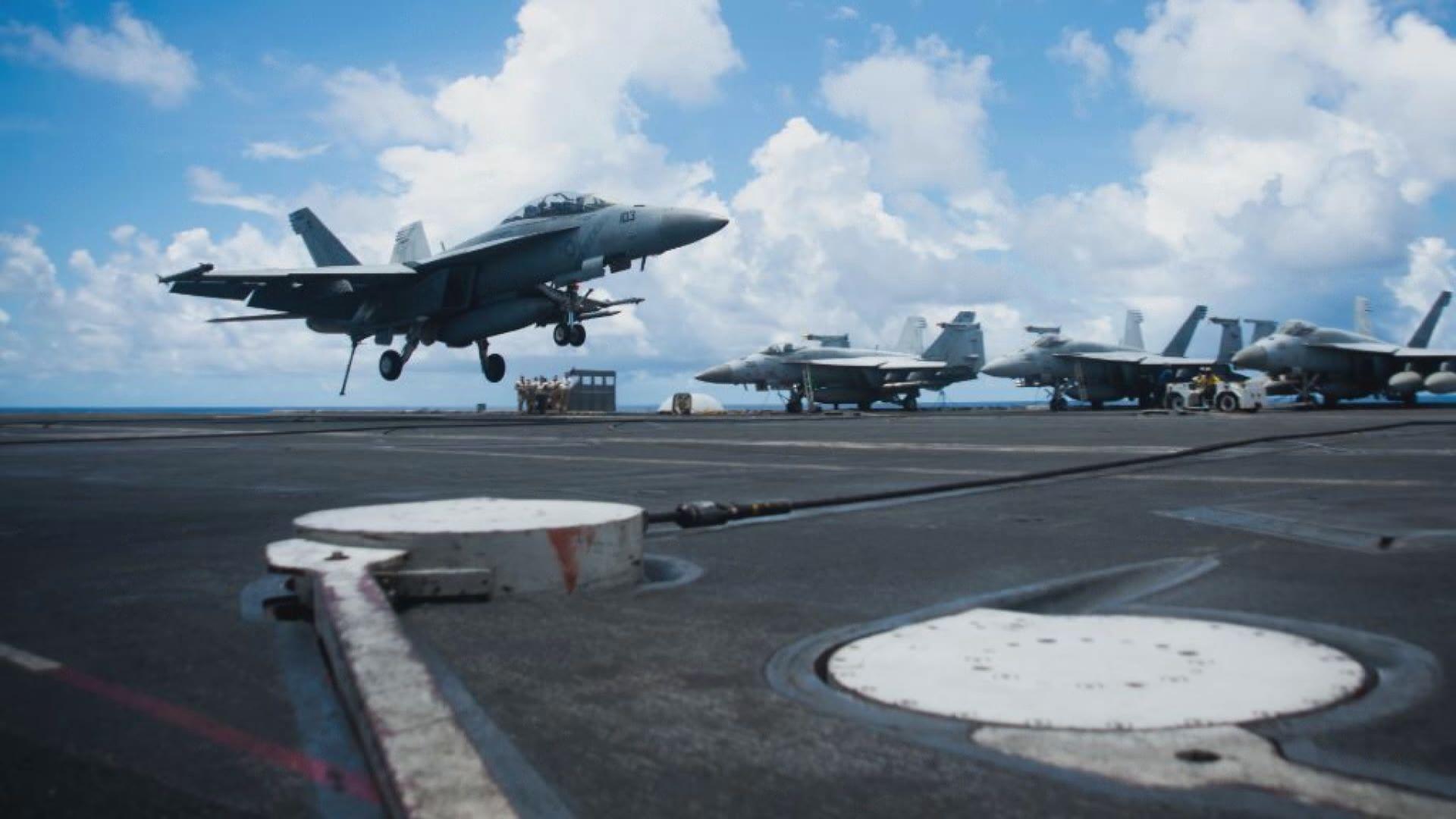 美航母列根號重返南海 展開海上防空行動