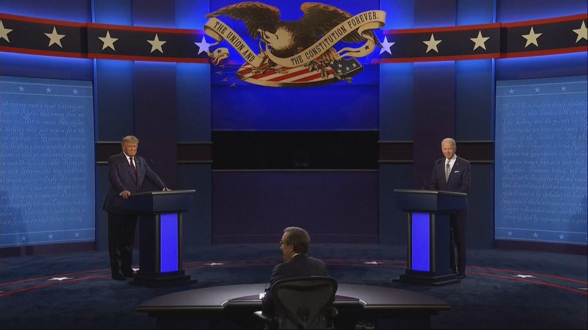 美國兩黨總統候選人舉行首場辯論
